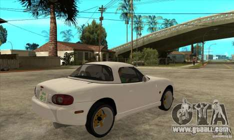 Mazda MX-5 JDM Coupe for GTA San Andreas right view