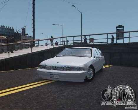Chevrolet Caprice Wagon 1993 for GTA 4