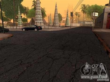 New roads on Grove Street for GTA San Andreas forth screenshot