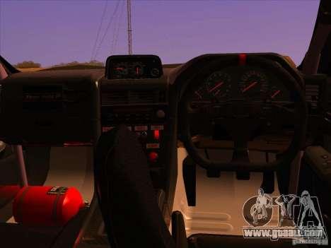 Nissan Skyline R34 Tunable for GTA San Andreas wheels
