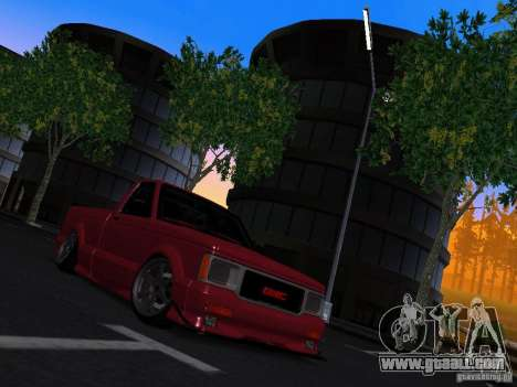 GMC Syclone Drift for GTA San Andreas right view