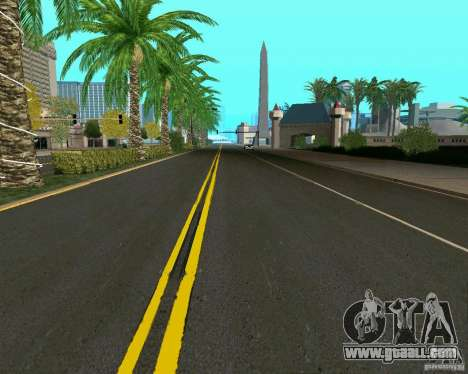 GTA 4 Road Las Venturas for GTA San Andreas forth screenshot
