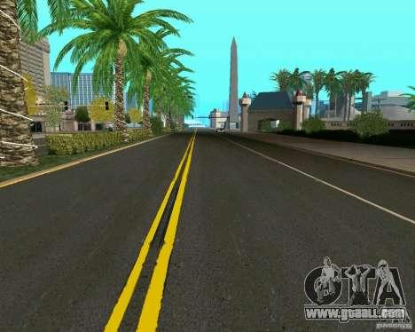 GTA 4 Road Las Venturas for GTA San Andreas forth screenshot