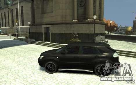 Lexus RX 400h for GTA 4 left view