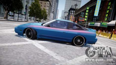 Nissan 240sx v1.0 for GTA 4 bottom view
