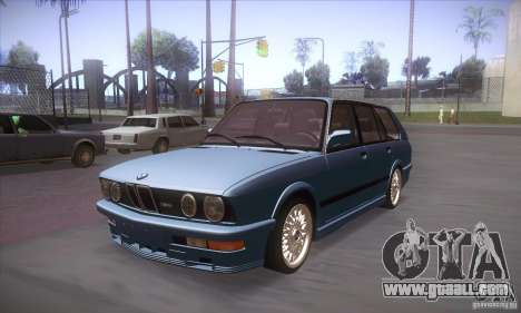 BMW E28 Touring for GTA San Andreas left view