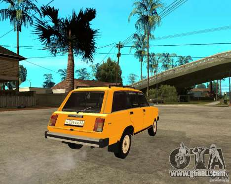 VAZ 2104 for GTA San Andreas back left view