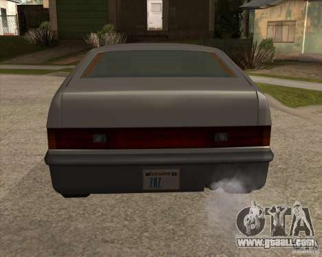 Improved Blistac for GTA San Andreas back left view