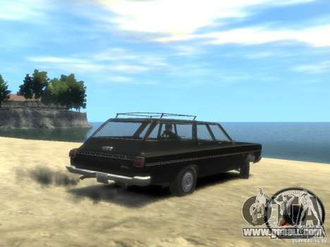 Plymouth Belvedere Wagon 1965 v1.0 for GTA 4 left view