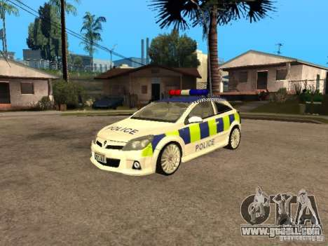 Opel Astra 2007 Police for GTA San Andreas