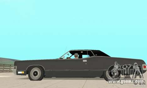 Mercury Marquis 2dr 1971 for GTA San Andreas left view