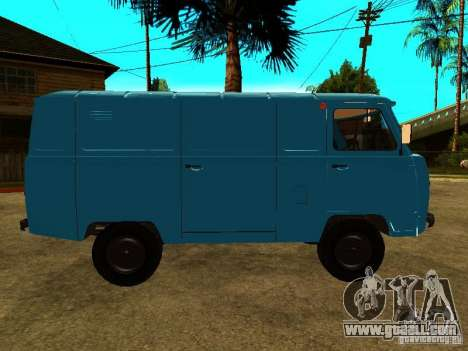 UAZ 450А for GTA San Andreas back left view