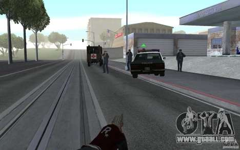 New animation shooting rifles for GTA San Andreas third screenshot