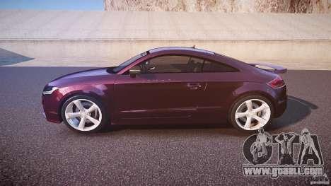 Audi TT RS v3.0 2010 for GTA 4 left view