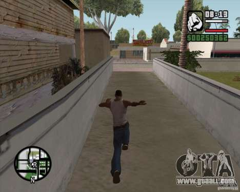GTA 4 Anims for SAMP v2.0 for GTA San Andreas third screenshot