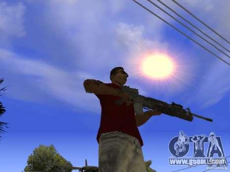 M4 Arma for GTA San Andreas