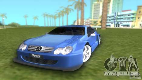 Mercedes-Benz CLK500 C209 for GTA Vice City