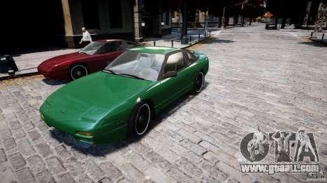 Nissan 240sx v1.0 for GTA 4 wheels