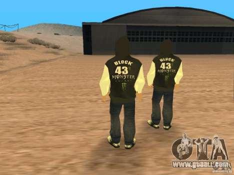 Ken Block Family for GTA San Andreas third screenshot