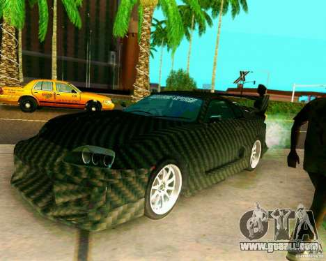 Toyota Supra Carbon for GTA San Andreas
