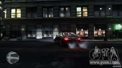 Mercedes-Benz S65 AMG for GTA 4 interior