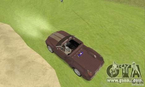 Dodge Sidewinder Concept 1997 for GTA San Andreas back left view