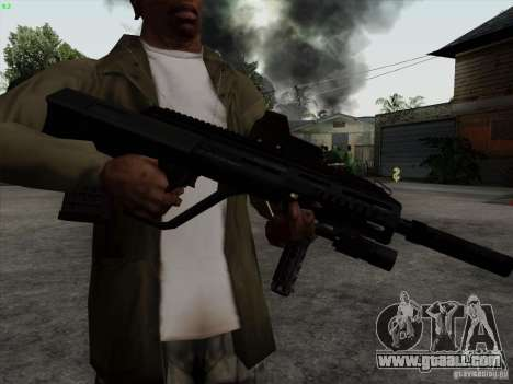 AUG-A3 Special Ops Style for GTA San Andreas third screenshot