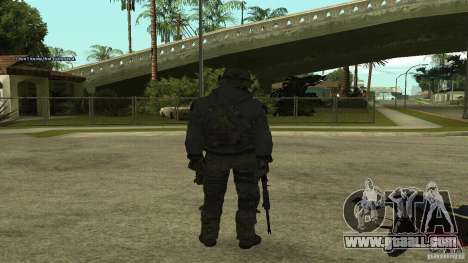 Roach from CoD MW2 for GTA San Andreas second screenshot