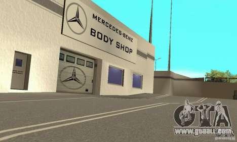 Mercedes Showroom v.1.0 (Autocentre) for GTA San Andreas forth screenshot