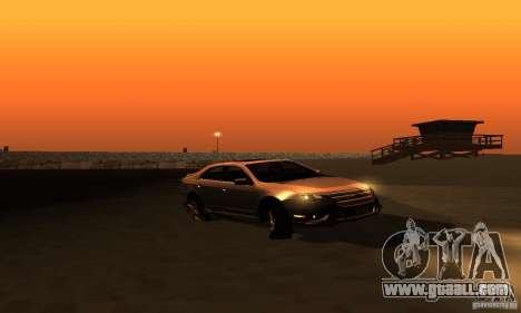 Ford Fusion Sport for GTA San Andreas right view