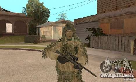 Skin sniper for GTA San Andreas