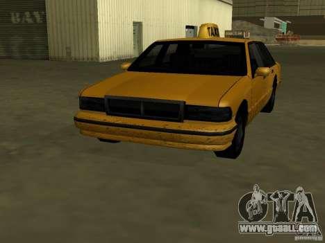 Realistic texture of original car for GTA San Andreas second screenshot
