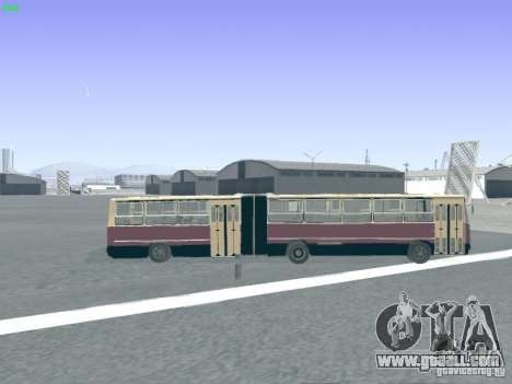 Trailer for Ikarus 280.03 for GTA San Andreas side view