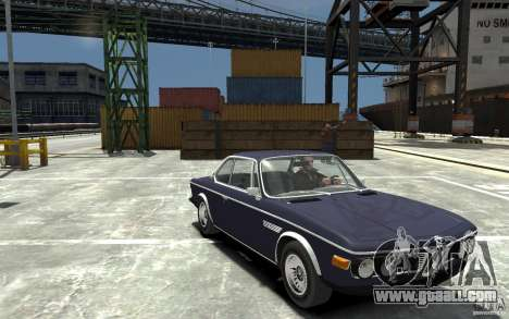 BMW 3.0 CSL E9 1971 for GTA 4 back view