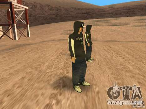 Ken Block Family for GTA San Andreas forth screenshot