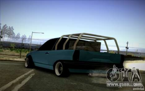 Volkswagen Polo Pickup for GTA San Andreas back left view