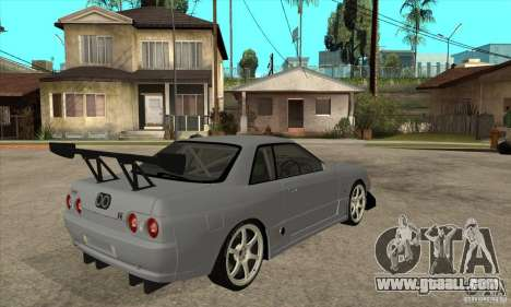 Nissan Skyline GT R R32 for GTA San Andreas right view