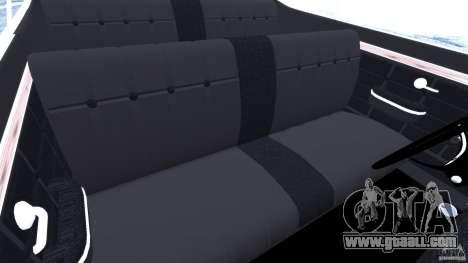 Chevrolet Opala Gran Luxo for GTA 4 inner view