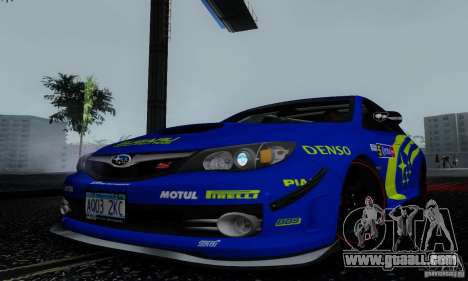 2008 Subaru Impreza Tuneable for GTA San Andreas engine