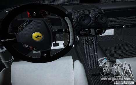 Ferrari FXX Evoluzione for GTA San Andreas right view
