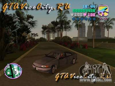 Opel Omega from GTA 3 for GTA Vice City