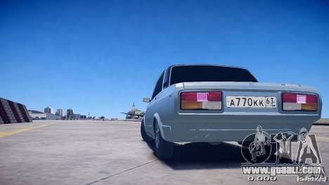VAZ 2105 v2.0 for GTA 4 left view