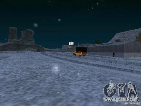 Snow for GTA San Andreas ninth screenshot