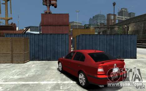 Skoda Octavia v.1.0 for GTA 4 side view