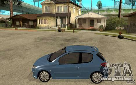 Peugeot 206 GTi - Stock for GTA San Andreas left view