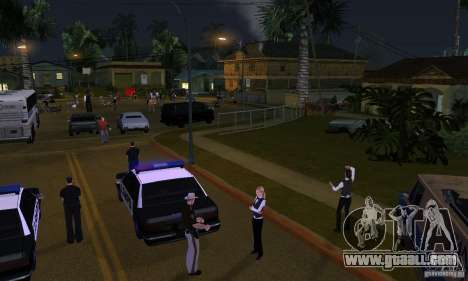 Project x on Grove Street for GTA San Andreas second screenshot