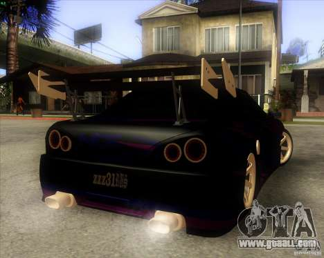 Elegy 0.2 for GTA San Andreas back view