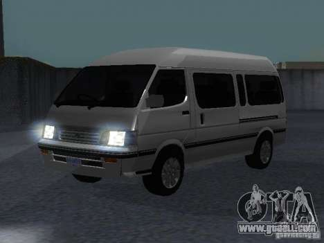 Toyota Hiace Super Custom for GTA San Andreas