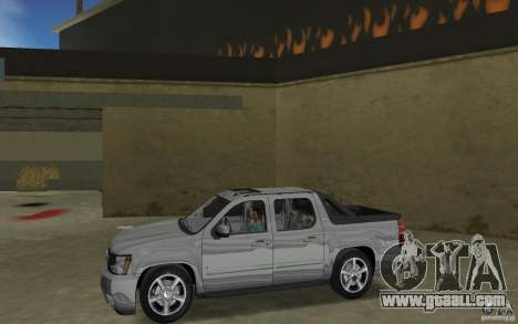Chevrolet Avalanche 2007 for GTA Vice City left view