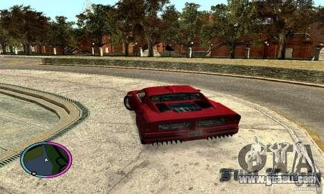 Axis Piranha Version II for GTA San Andreas left view
